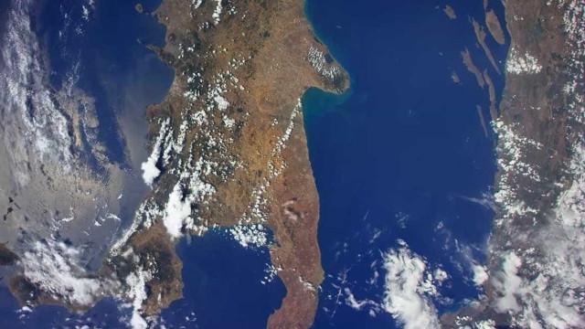 Astronauta faz vídeo incrível da Itália vista do espaço