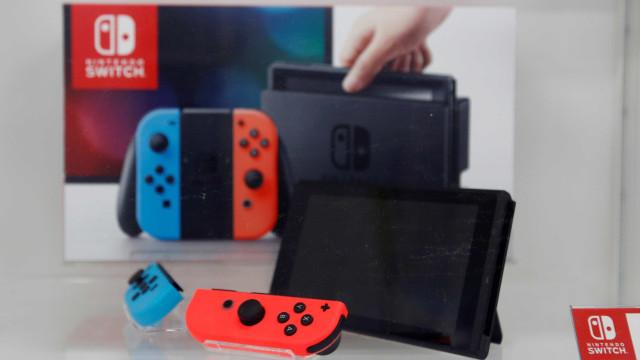 Nintendo prevê venda de 14 milhões de unidades do Switch em um ano