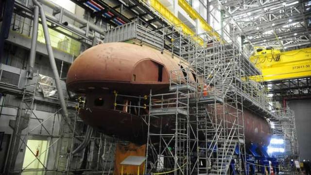 Submarino nuclear brasileiro parece sair do papel