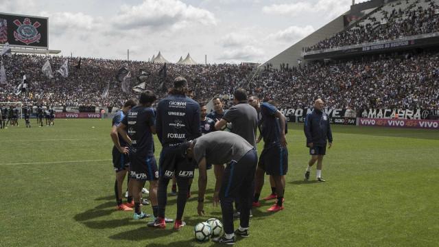 Corinthians troca 41 mil ingressos para treino aberto no sábado