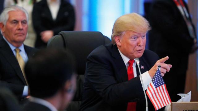 Trump e May concordam em impedir futuros 'ataques químicos'