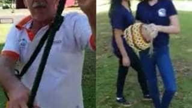 Homem atira veneno contra menores que faziam ensaio de Maracatu