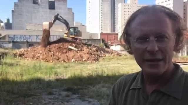 Grupo de Silvio Santos faz obras em área vizinha ao Teatro Oficina