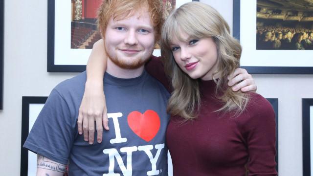 Ed Sheeran nega que canção de Taylor Swift seja sobre ele