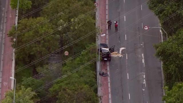 Acidente deixa uma pessoa morta e quatro feridas na zona leste de SP
