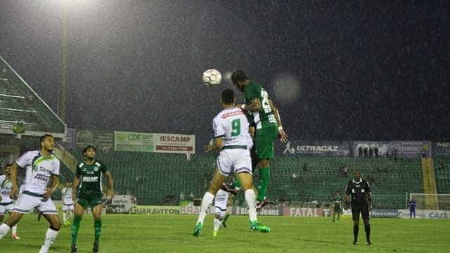 Z4 definido na série B: empate com o Guarani rebaixa o Luverdense