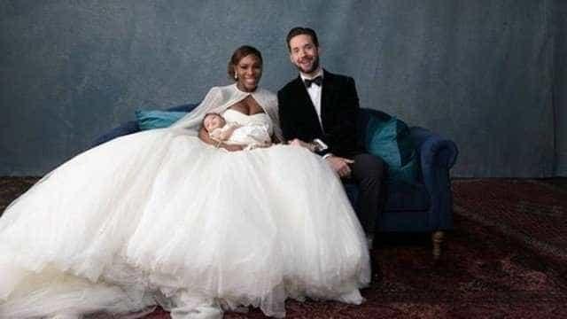Após casamento em segredo, Serena e marido divulgam primeiras fotos