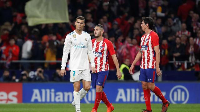 Atlético e Real empatam no clássico de Madri