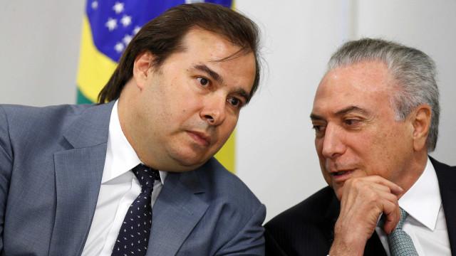 Temer reúne Maia e centrão para discutir aliança nas eleições de 2018