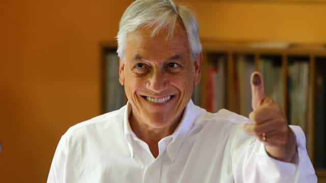 Sebastián Piñera vai ao segundo turno no Chile