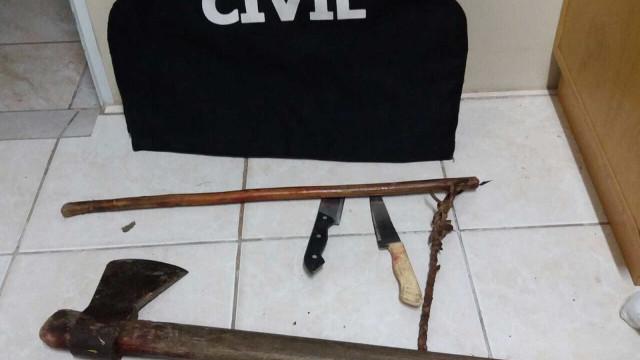 Enteado é suspeito de matar padrasto a machadadas em Canela