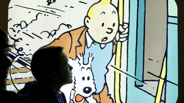 Desenho raro de Tintin é leiloado por quase R$ 2 mi