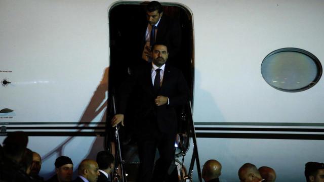 Quase 20 dias após renúncia, primeiro-ministro volta ao Líbano