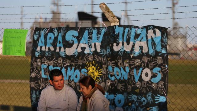 Submarino Argentino pode ficar sem oxigênio a partir desta quarta