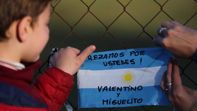 'Não temos nenhum rastro do submarino', diz Marinha argentina