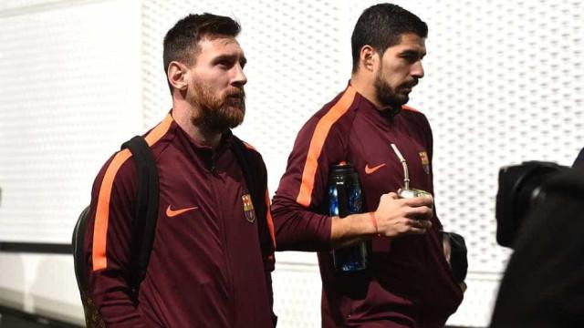 Barcelona divulga escalação com Paulinho titular e Messi no banco