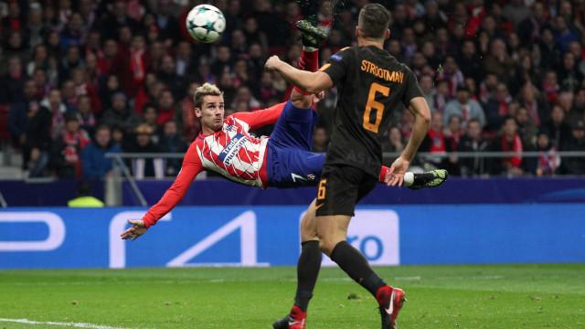 Atenção: este gol do Griezmann é candidato a mais bonito da Champions