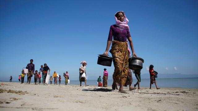 Myanmar fecha acordo com Bangladesh para volta dos rohingyas