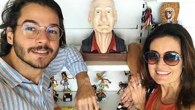 Túlio Gadêlha fala sobre 'sonho' em foto com Fátima Bernardes