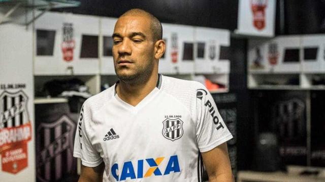 Rodrigo é dispensado de treino da Ponte e deve deixar clube em breve