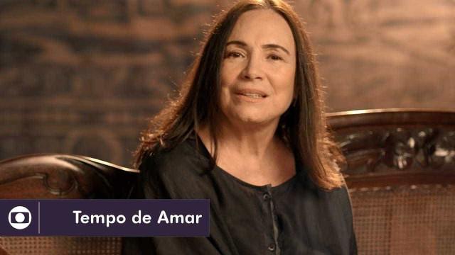 Regina Duarte volta a polemizar nos bastidores de 'Tempo de Amar'