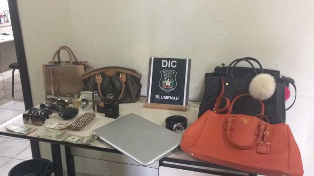 Preso suspeito de furtos milionários em casas de luxo de SC