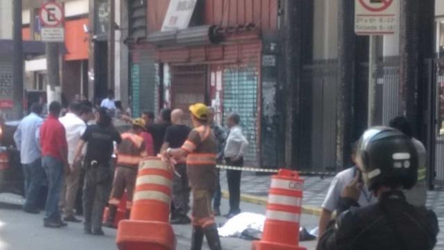 SP: tiroteio deixa dois mortos na Avenida Ipiranga