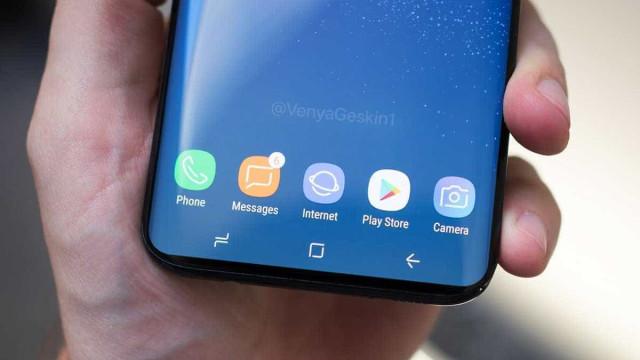 Confira as primeiras imagens do Galaxy S9