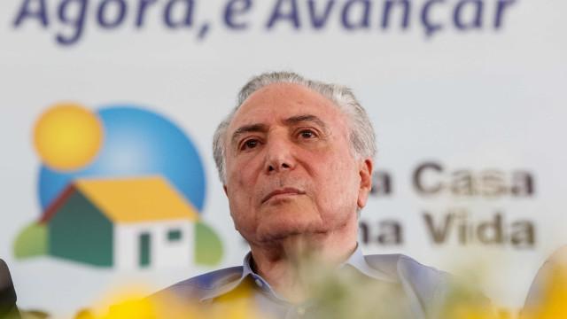 Desembarque do PSDB será 'cortês e elegante', diz Temer