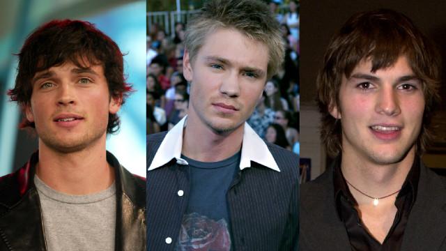 O antes e depois dos crushes dos anos 2000