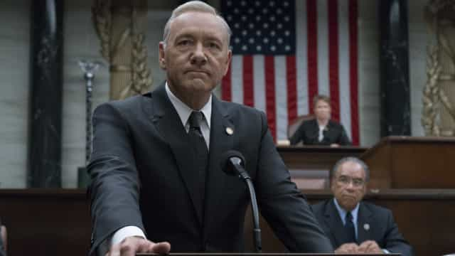 'House of Cards' voltará a ser gravada em 2018; sem Kevin Spacey