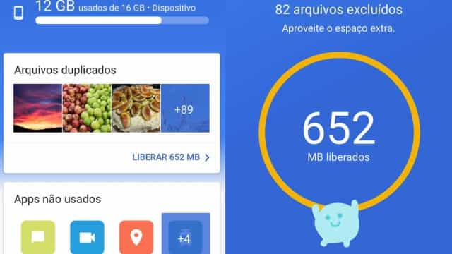 Google lança app que libera espaço interno do seu smartphone