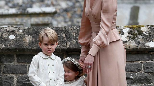 George e Charlotte ocuparão lugar de destaque no casamento de Harry
