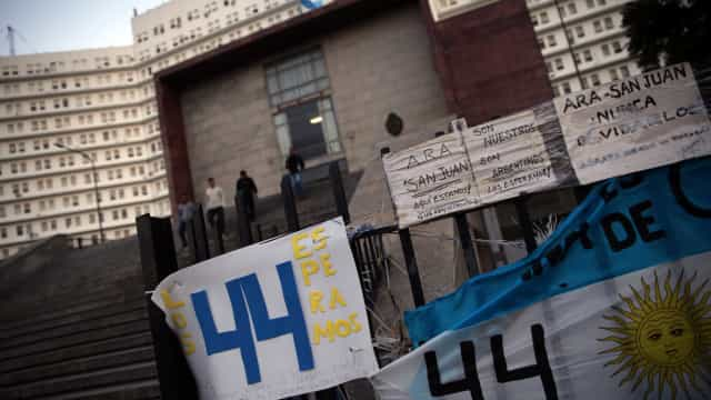 Argentina reconhece morte de toda tripulação de submarino