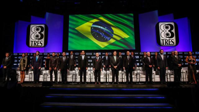 Temer e aliados se recusam a aplaudir Moro durante entrega de prêmio