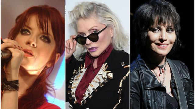 Confira os maiores nomes femininos da história do rock n' roll