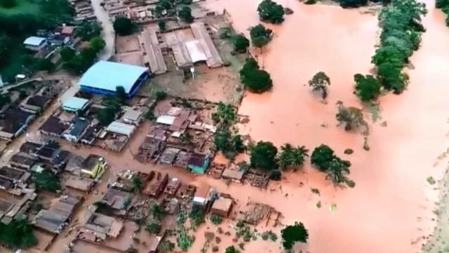 Governo decreta emergência em 14 cidades de Minas Gerais