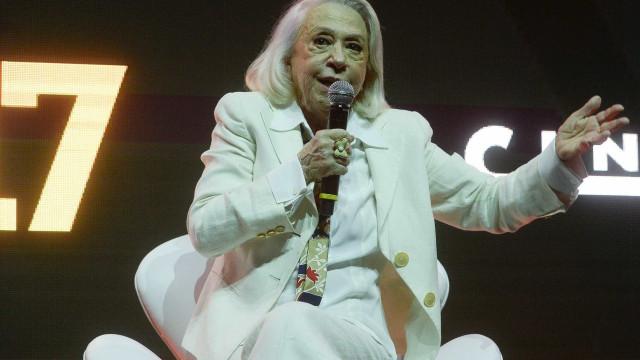 Fernanda Montenegro é homenageada por colega de 'Central do Brasil'