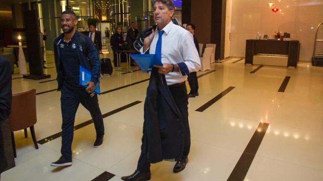 Renato faturou R$ 8 milhões de bonificação por ano vitorioso no Grêmio