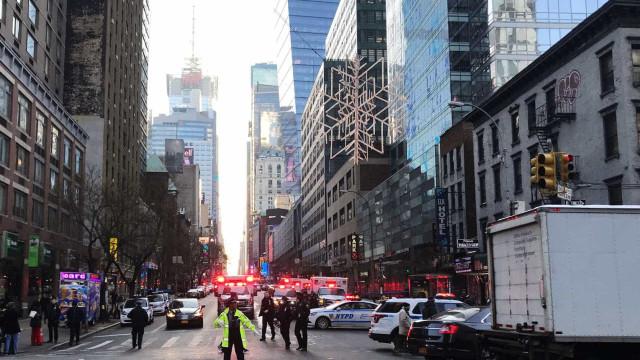 Explosão é registrada no centro de Nova York