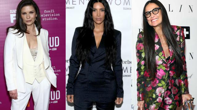 Look 'profissional': famosas que também gostam de vestir ternos