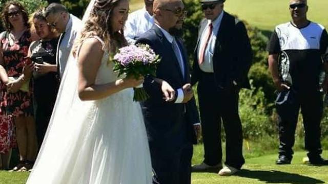 """Noiva morre no dia em que casou """"com o amor da vida"""""""