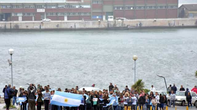 Argentina encontra navio naufragado enquanto busca pelo San Juan