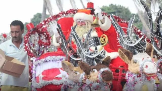 Crianças atiram pedras em Papai Noel voluntário: 'Sacanagem'