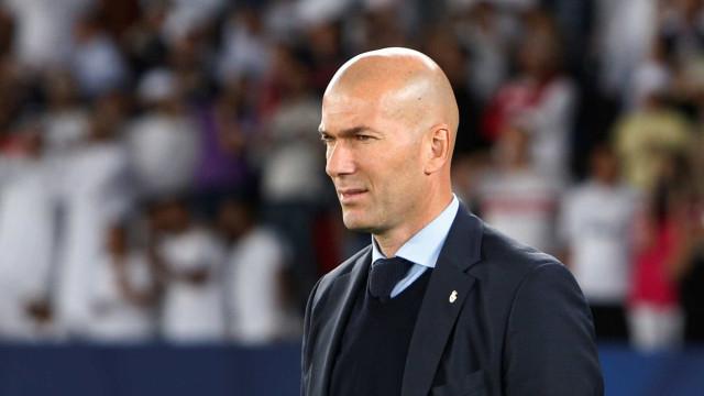 Zidane admite não conhecer totalmente o Grêmio
