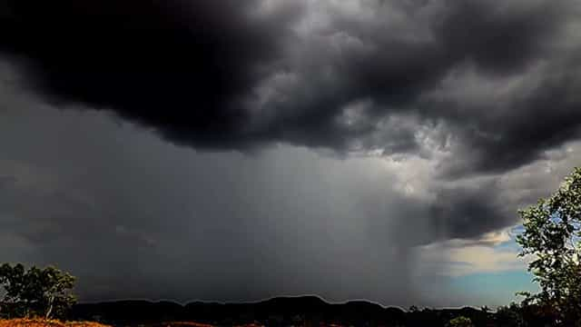 Time-lapse mostra tempestade na Austrália
