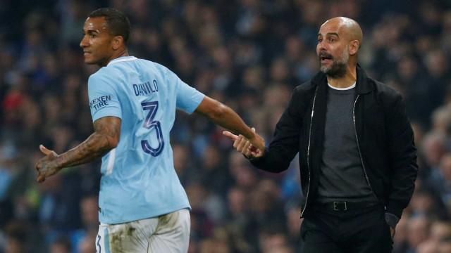 Em baixa no Manchester City, Danilo pode voltar ao Porto
