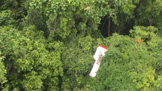 Corpos de família que estava em avião que caiu no MT são resgatados