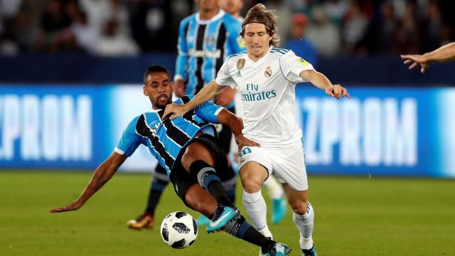 Modric é eleito melhor jogador do Mundial