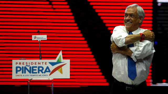 Piñera derrota Guillier e é o presidente do Chile pela 2º vez